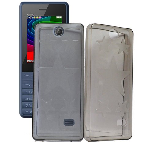 Micromax X2400 Case,Grey Soft ,Lightweight,Shock Absorbing Tpu Back Case Cover Micromax X2400  available at amazon for Rs.179