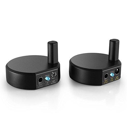 TNP Wireless IR Extender Repeater–Universal-Fernbedienung Infrarot IR Sender und Empfänger mit 3Head Eye IR Blaster Emitter Booster Kabel unterstützt Long Range 600FT (Ir-booster)