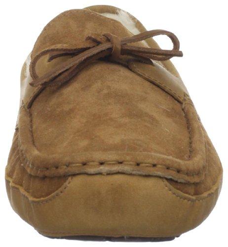 Ugg Australia Byron Daim Chaussures Pantoufles Noisette