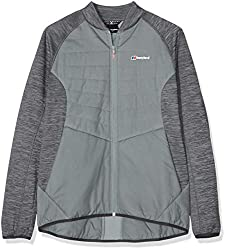 berghaus Gemini Hybrid-Fleecejacke, wasserabweisend XL Trade Winds/Light Carbon Marl