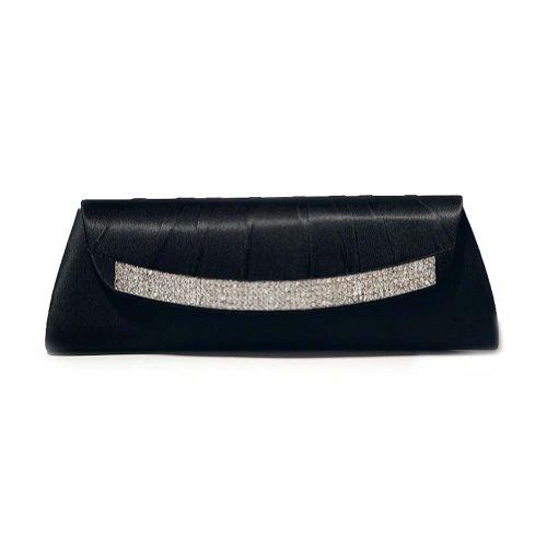 SEXYHER Damen Abend Handtasche Schwarz Gr. One Size