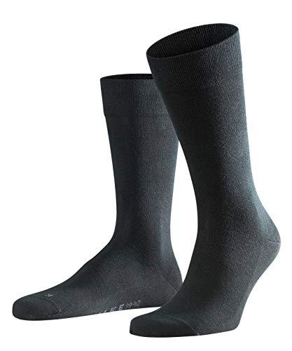FALKE Herren Socken Sensitive London, 94% Baumwolle, 1 Paar, Schwarz (Black 3000), Größe: 43-46