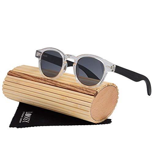 MXHSX Polarized UV400 Schutzgläser Handmade Bamboo Wood Sonnenbrillen Universal Sonnenbrillen für Mann und Frau Optional Sportbrillen