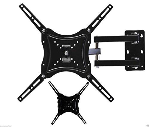 Soporte para televisor de 14'/32'/40'/42'/46'/50'/55', con brazo de montaje a la pared y soporte máximo de 50 kg