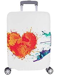 I Love Sports - Funda Protectora para Maleta de Viaje con diseño de Pintura de Salpicaduras