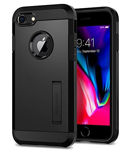Spigen [Tough Armor 2 iPhone 8/7 Hülle (054CS22216) Stoßabweisende Doppelte Schutzschicht Handyhülle für Extrem Fallschutz Schutzhülle Case (Schwarz)
