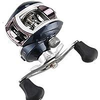 Appâtage moulinets 6 + 1 roulements à Billes Drag Power Haute Vitesse Bobine de pêche Rapport de Transmission 8.1: 1 pour Outils de pêche Bass