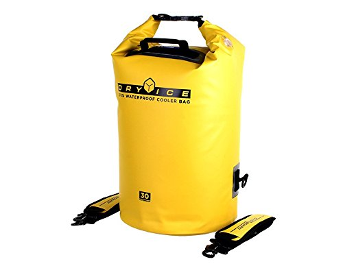 Overboard étanche Ice Cooler Bag – Jaune, Medium/30 litre