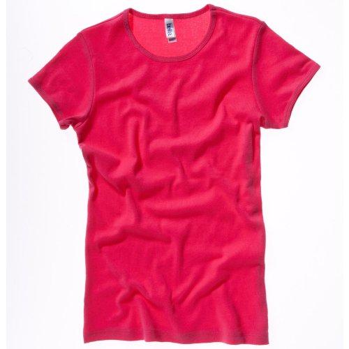 Bella Canvas - T-shirt -  Femme Rose - Fuchsia