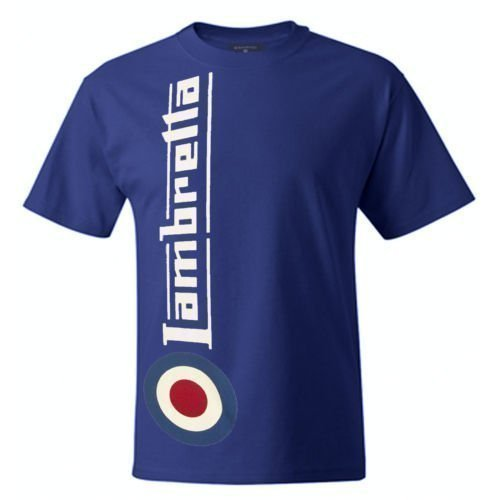 Lambretta Side Logo Mens T-Shirt (Deep Royal)