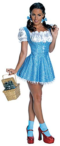 The Wizard Of Oz Sexy Dorothy Sequin Dress Costume Adult Large (Sexy Dorothy Kostüme)