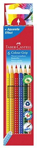 Preisvergleich Produktbild Faber-Castell 112406 - Farbstift Colour Grip Etui 6er