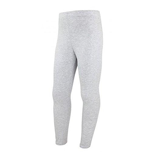 (TupTam Mädchen Leggings Lange Leggins Blickdicht Baumwolle , Farbe: Grau Meliert, Größe: 128)