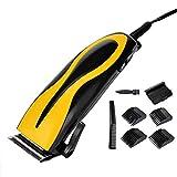 CMAYT Haarschneidemaschinen für Männer Haarschneider Haarstyling-Tools Elektrische Haarschnitt-Kit Keramikklinge mit Titan-Klingen mit 3/6/9mm Kammbegrenzung