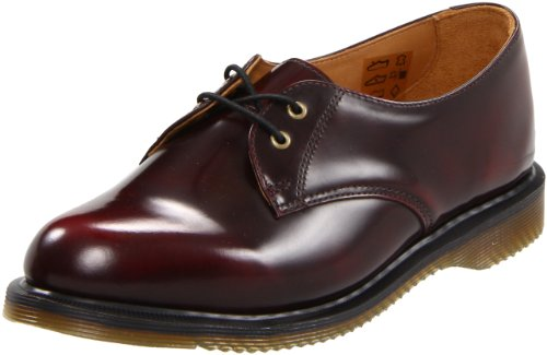 Dr. Martens Brook, Chaussures à lacets femme Rouge (Cherry Red)
