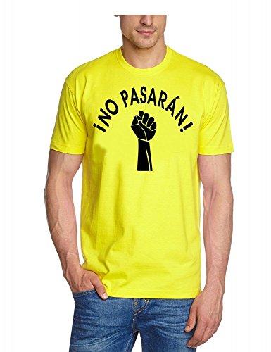 NO paSARAN! touchlines t-shirt pour homme Jaune - Jaune