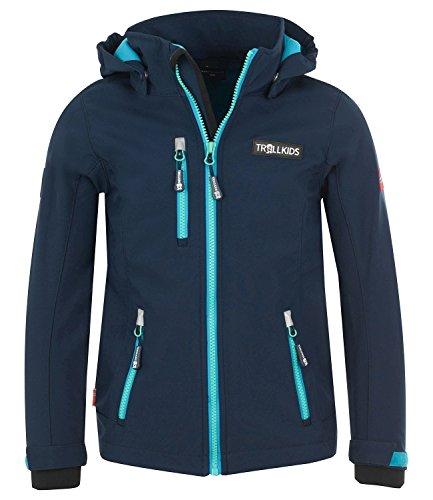 Trollkids Mädchen Trainingsjacke Blau marineblau 110 cm