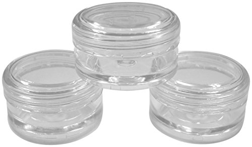5x-5ml-empty-plastic-jars-pots-w-clear-screw-lids-for-nail-art-glitter-make-up-oils