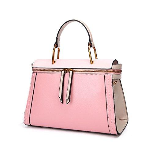 FZHLY Borsa Di Ricamo Di Modo Del Sacchetto Di Spalla Casuale Di Stile Coreano,Pink Pink