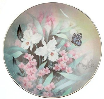 c1991 Knowles Jewels of the Flowers Saphir Wings Tan Chun, Chiu TN138 Teller -