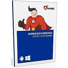 Salfeld Kindersicherung 2018: Windows und Android Handy Kinderschutz Jugendschutz App mit Überwachung Zeitbegrenzung App Kontrolle und Internet Filter gegen Handysucht (1 Gerät / 24 Monate)