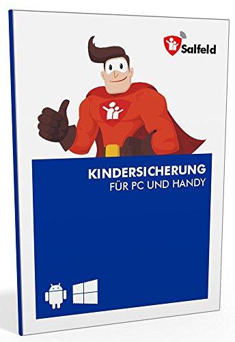 Salfeld Kindersicherung: Windows und Android Handy Kinderschutz Jugendschutz App mit Überwachung Zeitbegrenzung App Kontrolle und Internet Filter gegen Handysucht (3 Geräte / 24 Monate) Iii Handy
