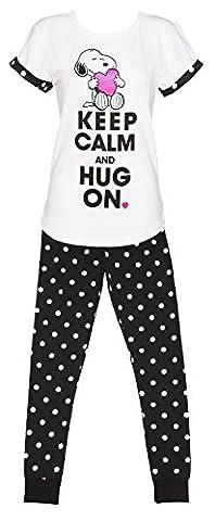 Snoopy Ladies Pyjamas UK 12-14