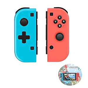 TUTUO Wireless Controller für Nintendo Switch, Replacement Joystick Kabelloser Bluetooth Gamepad Controller Doppelmotor Axis Gyro Kompatibel mit Nintendo Switch Pro