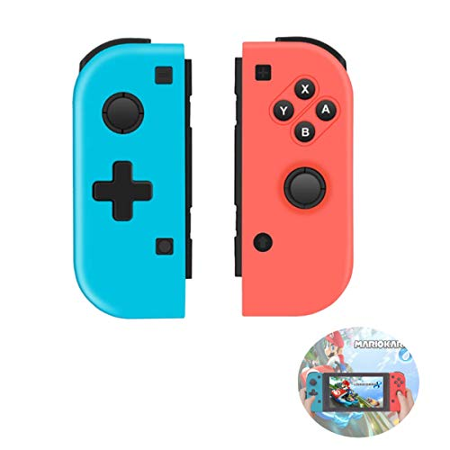 TUTUO Wireless Controller für Nintendo Switch, Replacement Joystick für Joy Con Kabelloser Bluetooth Gamepad Controller Doppelmotor Axis Gyro Kompatibel mit Nintendo Switch Pro -