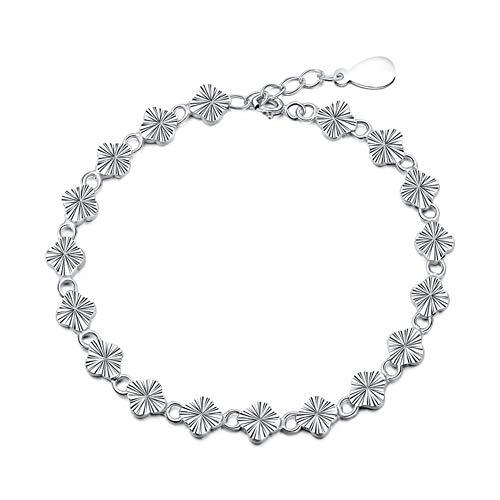 KE & LE Tennis Frauen-Charm Armband, Crystal Schmuck Dame Valentinines Geschenk Zirkonia Platziert Armreif Für Frauen Liebe Armbander Armreif-a