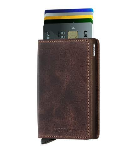 Secrid SV-Chocolate Slimwallet Vintage RFID Secured