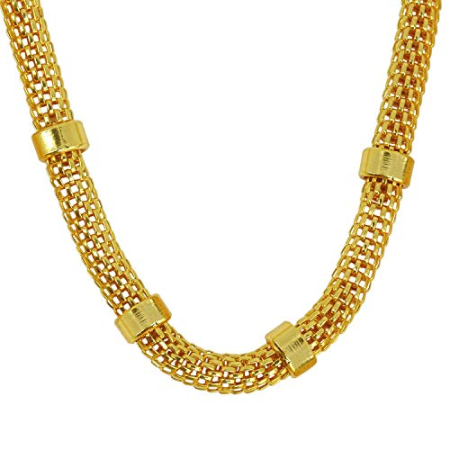 La Marque Gold Plated Chain For Mens & Boys