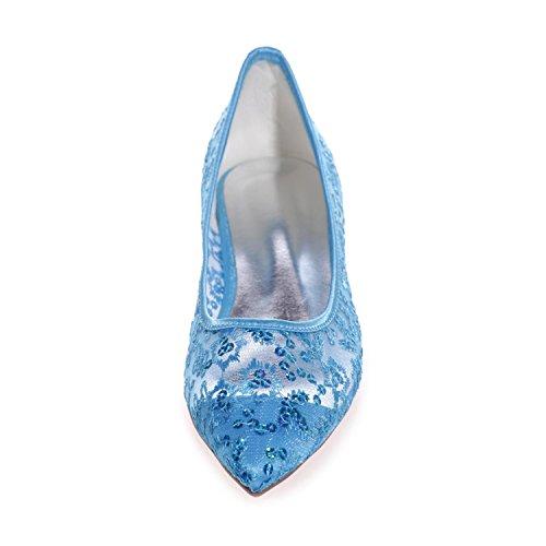 Elegant high shoes2046-18 Scarpe Corte Con Fiocco In Pizzo Da Donna Con Punta Piatta E Punta Chiusa White