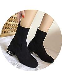 Y Negro es Complementos Zapatos Zapatos Amazon Letras qPFXwwa