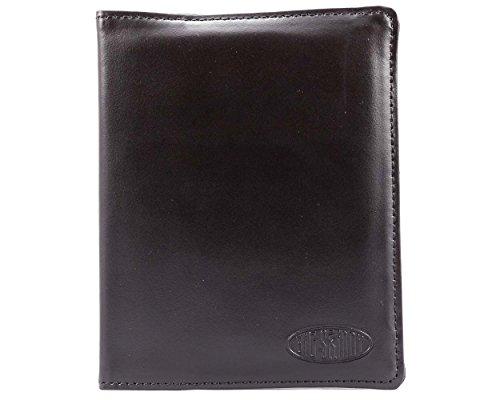 sport Holder Slim Wallet, hält bis zu 16Karten und 2Pässe, Damen, schwarz ()