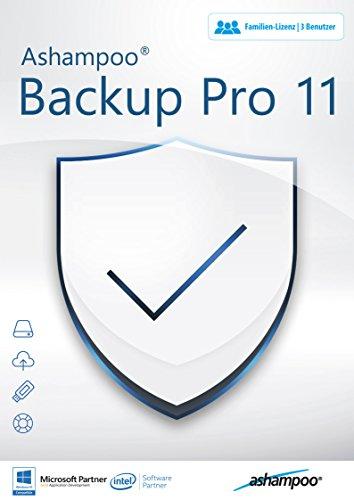 Backup Pro 11 - Datensicherung für 3 Bentuzer für Windows 10, 8.1, 8, 7, Vista