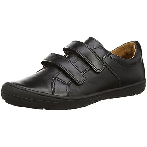 Froddo Boys School Shoe Black G3130090-1, Scarpe da Ginnastica Basse Bambino