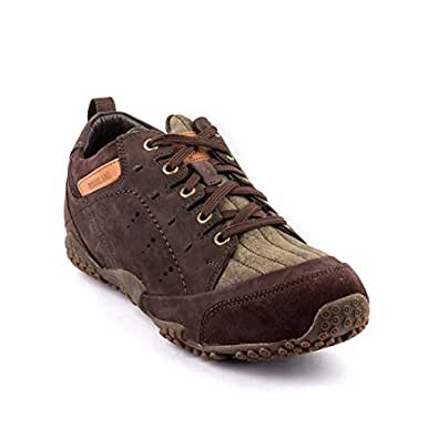 Woodland Leather Men's Casual Brown Sneaker Shoes