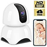 IP Camera Wireless 1080P,WiFi Baby Monitor Indoor Camera with Night Vision Motion Detection