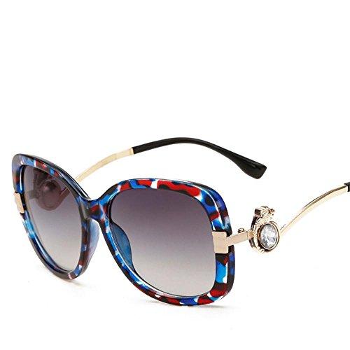 Dame Sonnenbrille runder Kasten Retro Sonnenbrille Jurte c6 Rezept Kästen Und Behälter