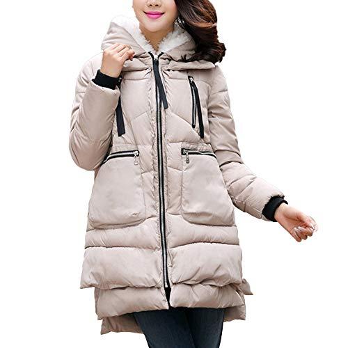 Preisvergleich Produktbild i-uend 2019 Damen Winter Jacke Parka Mantel Winterjacke warm gefüttert M-5XL