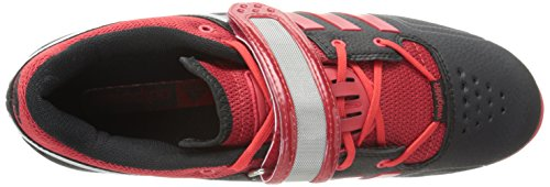 Adidas adiPower Weightlift Shoes - nero / scarlatto / Tech Grey Metallic (3.5) Black/Light Scarlet/Tech Grey/Metallic S