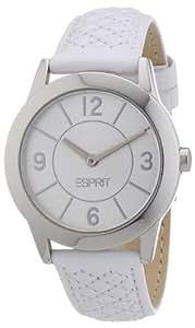 Esprit Damen-Armbanduhr Analog Quarz Leder ES104342002