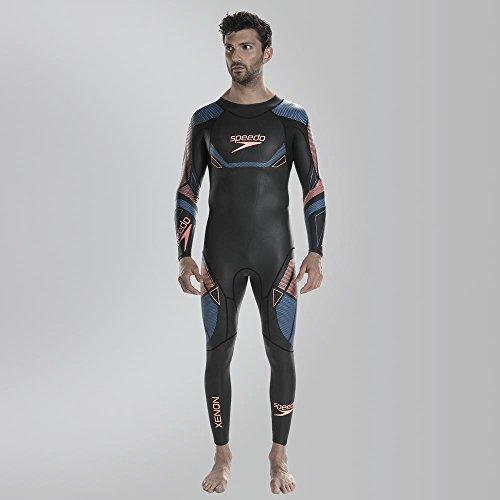 Speedo Fastskin Xenon Thinswim Bañador, Hombre, Negro/Azul, S