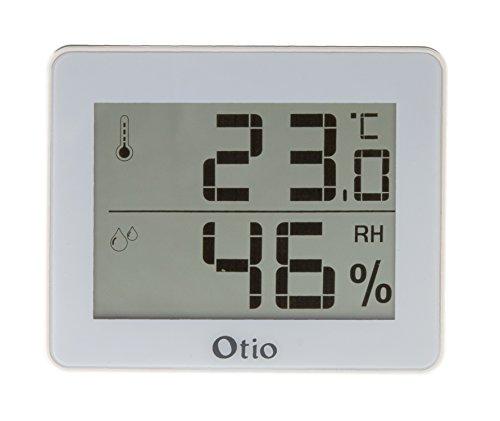 Otio - Thermomètre/Hygromètre Blanc