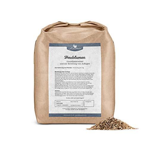 Heublumen in sehr hochwertiger Qualität, frei von jeglichen Zusätzen, warme Umschläge, für Pferde oder Hunde (Flores graminis) - 1000 g