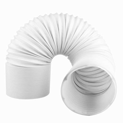 Tragbare Abluftschlauch Klimaanlage Schlauch Flexibel für Klimaanlagen Wäschetrockner Abzugshaube Länge 1,5 m/59 Zoll - Durchmesser 15 cm/5,9 inches