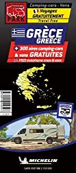 Greece Motorhome Stopovers: Map (Trailers Park Maps)