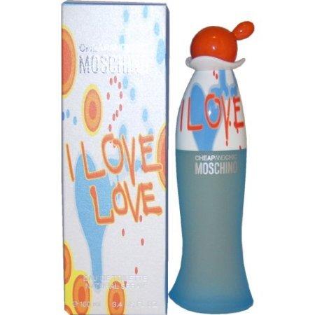 I love i love by moschino 96,4gram 100ml, eau de toilette da donna