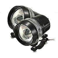 TUINCYN U3 motocicleta LED lámpara motor faro proyector bombilla 1200 lúmenes 6000K blanco moto universal funcionamiento funcionamiento rayo proyector Daymarker LED bombilla (paquete de 2)